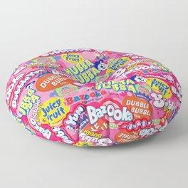 Bubble Gum Explosion Floor Pillow