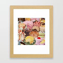 The Icing on the Cake(s) Framed Art Print
