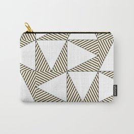 Audrey and Frank - Modern Envelopes (Neutral) Carry-All Pouch