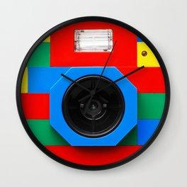 VINTAGE LEGO CAMERA Wall Clock