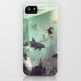 The Sea Unicorn Lady iPhone Case