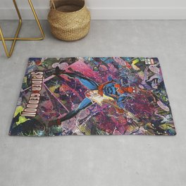 Spider Man - Spidergeddon - Punk Rock Comic Book Superhero Wall Art Rug