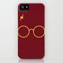 Harry Glasses iPhone Case