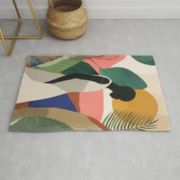 Tropical Girl Rug