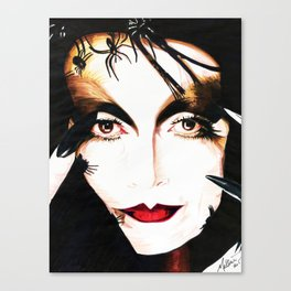 The Spider Woman Canvas Print