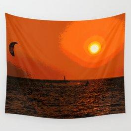 kitesurfing Wall Tapestry