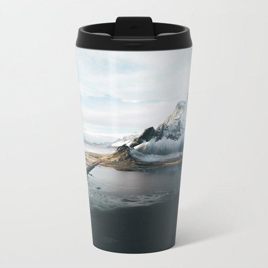 Iceland Adventures - Landscape Photography Metal Travel Mug