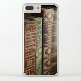The Writing Desk 2 Clear iPhone Case