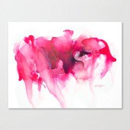 When The Heart Bleeds Canvas Print