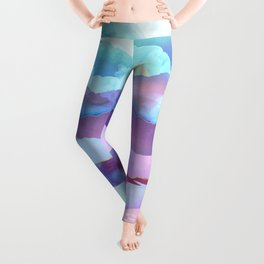 Opal Mountains Leggings