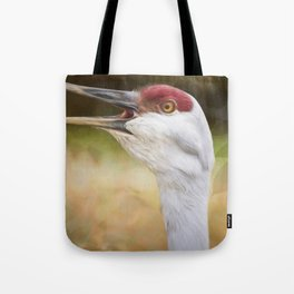 Bird Art - Look Who's Talking Tote Bag