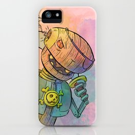 Robot Pirate iPhone Case