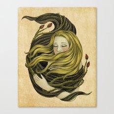 An Embrace Canvas Print