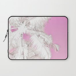 High palms in pink Laptop Sleeve