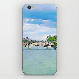 Bridges of The Seine iPhone Skin