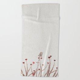 natureminimalism Beach Towel