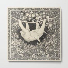 I am not a hammock, egret.  :-( Metal Print