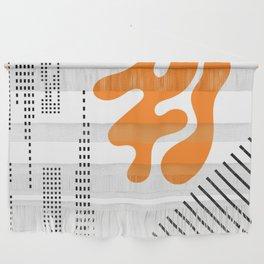 Mid-Century Modern Art Future Wall Hanging
