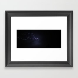 God's leash Framed Art Print