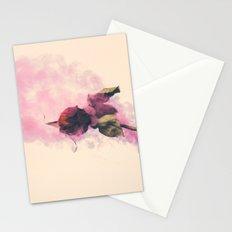 Rose and Smoke Romance Stationery Cards