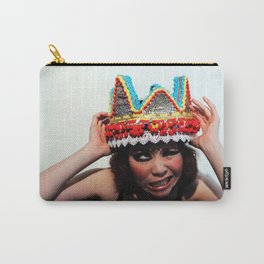 Don't You Dare Touch My Crown Carry-All Pouch
