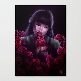 Dangerous as a Rose Canvas Print