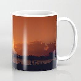 Hawaii Sunset - Ala Moana Beach Coffee Mug