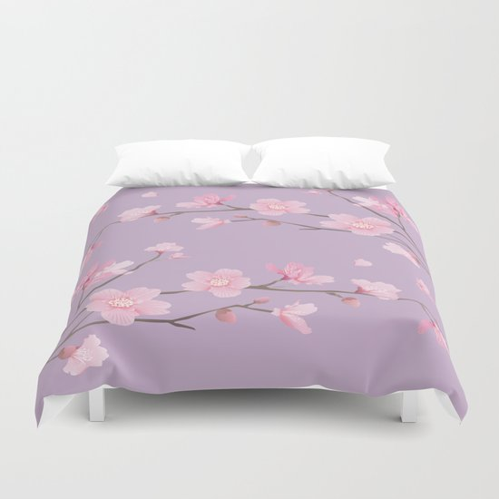 Cherry Blossom - Pale Purple by designenrich
