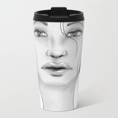 Girl Metal Travel Mug