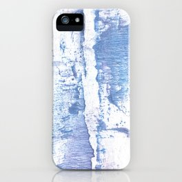 Lavender blurred watercolor design iPhone Case