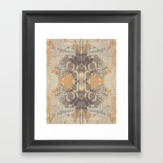 Tribal Wings Framed Art Print
