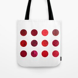 Red Pigments - Which red are you? Tote Bag