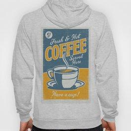 Vintage poster- Coffee Hoody