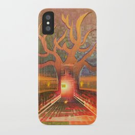 New Year in The Smart City iPhone Case