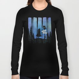 Any Road Will Get You There - Alice In Wonderland Long Sleeve T-shirt