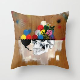 Jelly Full Of Head Throw Pillow