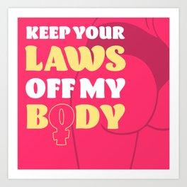 Womens Rights Art Print