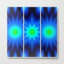 Power of Three Stars Metal Print