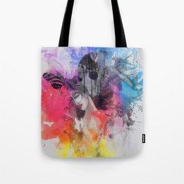 black butterflies Tote Bag