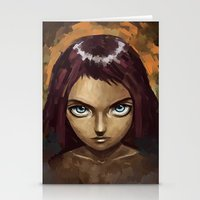 raven Stationery Cards featuring Raven by Freeminds