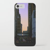 cityscape iPhone & iPod Cases featuring Cityscape by Tatum Kevlin