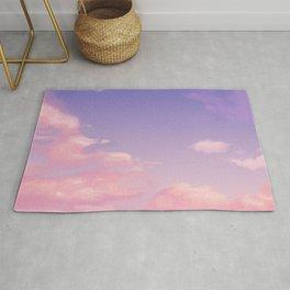 Sky Purple Aesthetic Lofi Rug