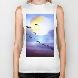 Birds of passage. Biker Tank