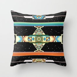 Espacio Serape Throw Pillow