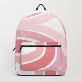 Pink Borderline Backpack