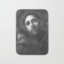 Unknown Artist (Bologna) - Saint Francis (17th Century) Bath Mat
