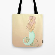 Portrait of a Pink Lady Tote Bag