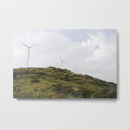 Nostalgia-On The Mountain Metal Print