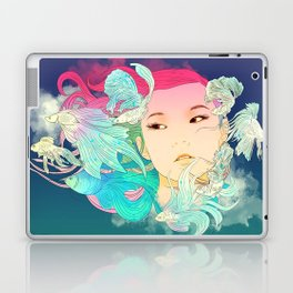 Fish Lady Laptop & iPad Skin