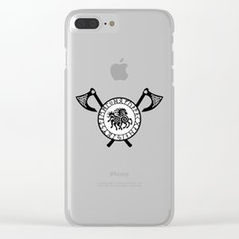 Norse Axe - Sleipnir Clear iPhone Case